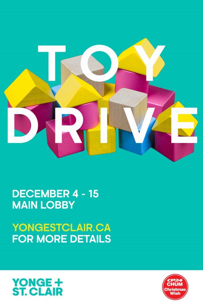 Yonge St Clair Toy Drive Yonge St Clair
