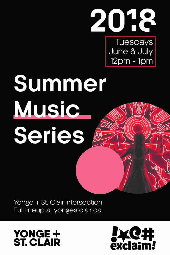 c8f3c2f7ac5 The Yonge + St. Clair Summer Music Series is HERE